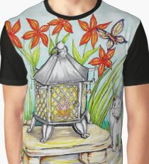 Japanese Lantern Graphic T-Shirt