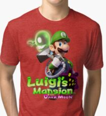 Luigi's Mansion Dark Moon T-Shirt Tri-blend T-Shirt