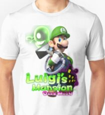 Luigi's Mansion Dark Moon T-Shirt T-Shirt