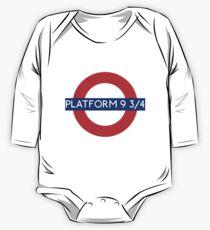 Fandom Tube- PLATFORM 9 3/4 One Piece - Long Sleeve