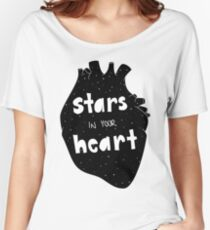 stars in your heart Women's Relaxed Fit T-Shirt