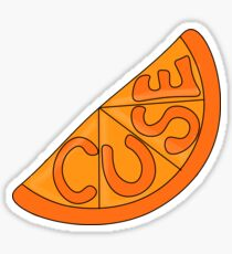 Syracuse University: 'Cuse Slice Sticker