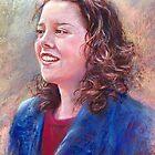 Portrait of Donna by Lynda Robinson