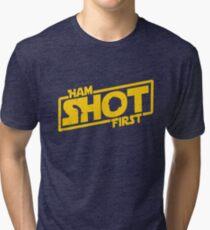 Hamilton Shot First Tri-blend T-Shirt