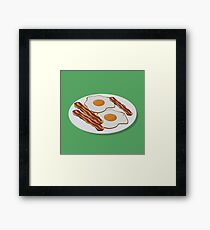 Bacon & Eggs Framed Print