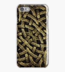 Ancient Arabesque Stone Ornament iPhone Case/Skin