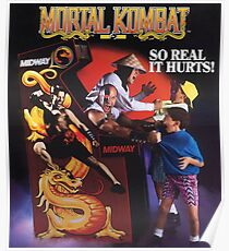 Mortal Kombat So Real It Hurts  Poster