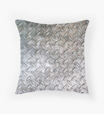 Metal Floor Pattern - Cases, Pillows and Totes Throw Pillow