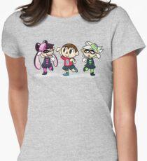 Fresh New Friends Women's Fitted T-Shirt