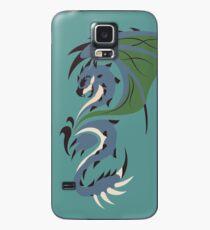 Reign of Heavens - Azure Rathalos Hülle & Klebefolie für Samsung Galaxy