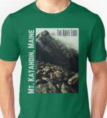 The Knife Edge on Mt. Katahdin Unisex T-Shirt