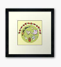 The Gardening Devotee Framed Print
