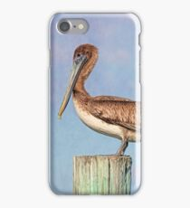 Young Brown Pelican iPhone Case/Skin