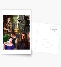 Outlander-Collage Postkarten