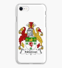 McGowan Coat of Arms / McGowan Family Crest iPhone Case/Skin