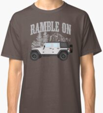 RAMBLE ON (white) Classic T-Shirt
