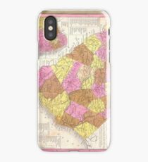Vintage Map of South Carolina (1846) iPhone Case