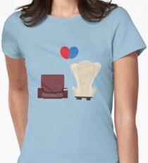 u p Women's Fitted T-Shirt