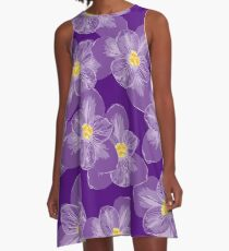 There'll Be Crocuses A-Line Dress