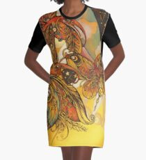 Critters Graphic T-Shirt Dress