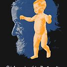 Old German Poster - Life Insurance Advertisement 1930`s by Remo Kurka