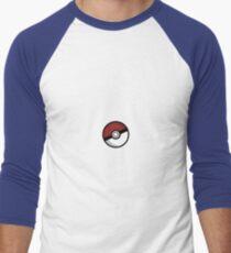 Pokemon Logo Men's Baseball ¾ T-Shirt