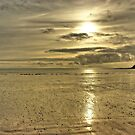 Beach Sunset - Oxwich Bay, Gower, Wales by Remo Kurka