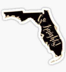 UCF Go Knights Florida Sticker