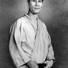 Japanese Memorial Portrait by Margaret Harris