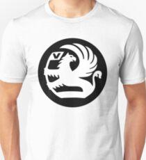 Vauxhall Badge WHT/BLK T-Shirt