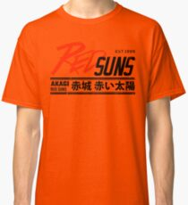 Initial D - RedSuns Tee (Black) Classic T-Shirt