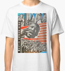 Martin Luther King - East German Poster 1980`s Classic T-Shirt