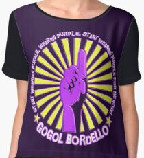 Gogol Bordello - Start Wearing Purple Chiffon Top