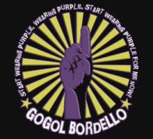 Gogol Bordello - Start Wearing Purple Kids Tee