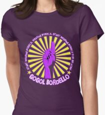 Gogol Bordello - Start Wearing Purple Womens Fitted T-Shirt