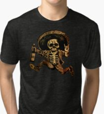 Posada Day of the Dead Outlaw Tri-blend T-Shirt
