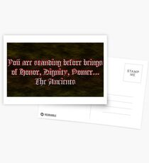 The Ancients  Postcards
