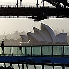 Sydney Opera House from cruise ship. by ronsphotos