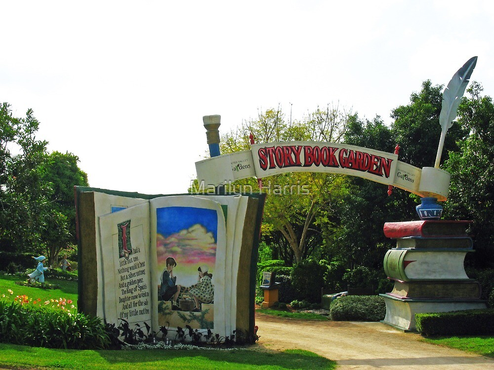 The Story Book Garden by Marilyn Harris