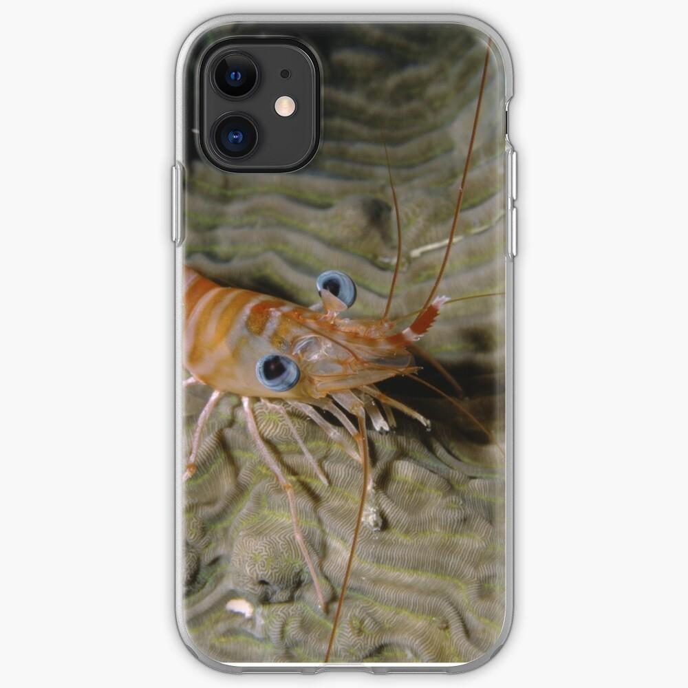Prawn Portrait iPhone Soft Case
