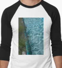 Aquamarine and Lavender - the Fragrant Edge of the Pool T-Shirt