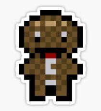 Pixel Sackboy Sticker