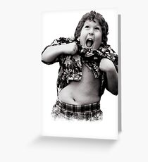 Goonies Chunk Greeting Card