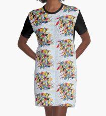 Birdopoly T-Shirt Kleid