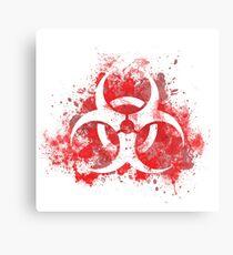 Spread the plague Canvas Print