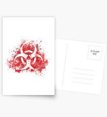 Spread the plague Postcards