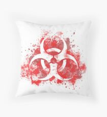 Spread the plague Throw Pillow