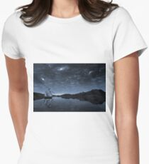 Beneath a jewelled sky Women's Fitted T-Shirt