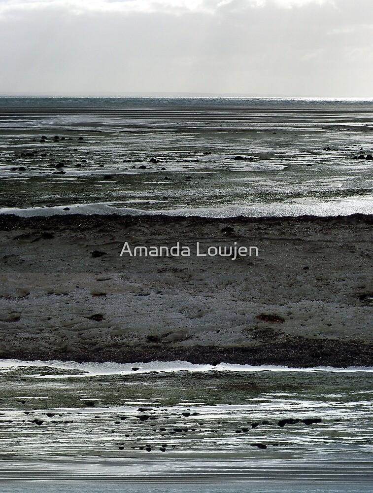 Stanley Beach Diptych by Amanda Lowjen
