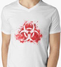 Spread the plague Men's V-Neck T-Shirt